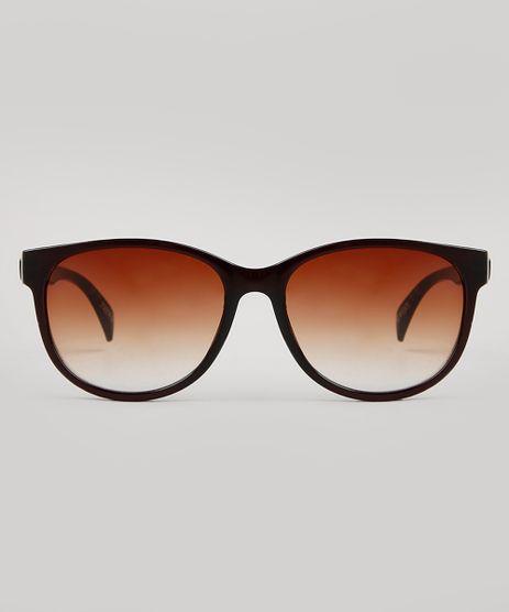 Oculos-de-Sol-Redondo-Feminino-Yessica-Marrom-9732470-Marrom_1