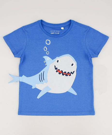 Camiseta-Infantil-Tubarao-Manga-Curta-Azul-Royal-9709179-Azul_Royal_1