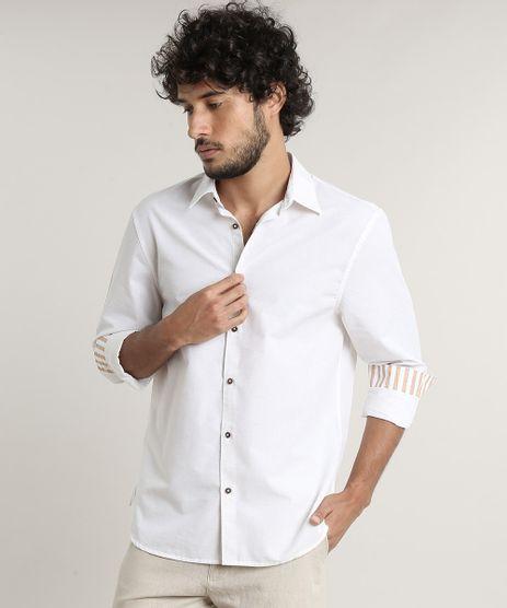 Camisa-Masculina-Comfort-Fit-com-Linho-Manga-Longa--Off-White-9533302-Off_White_1