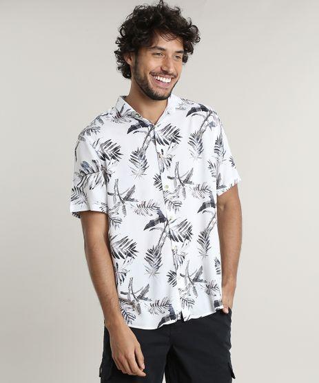 Camisa-Masculina-Tradicional-Estampada-Tropical-Manga-Curta-Off-White-9614145-Off_White_1