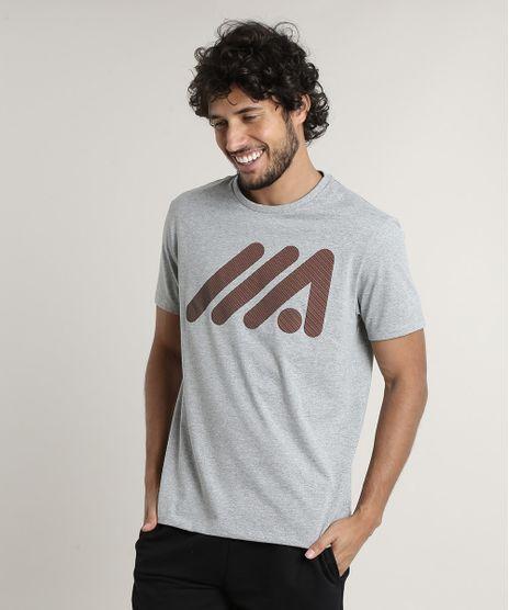 Camiseta-Masculina-Esportiva-Ace-Manga-Curta-Gola-Careca-Cinza-Mescla-Claro-9727374-Cinza_Mescla_Claro_1