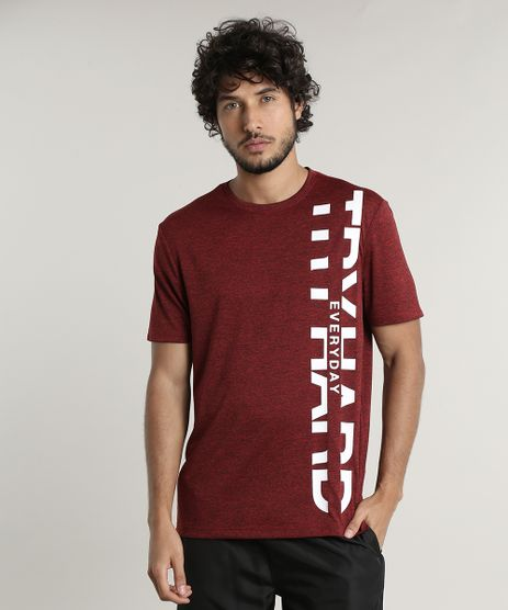 Camiseta-Masculina-Esportiva-Ace--Try-Hard-Everyday--Manga-Curta-Gola-Careca-Vinho-9741715-Vinho_1