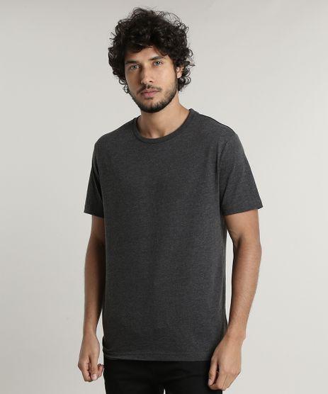 Camiseta-Masculina-Basica-Manga-Curta-Gola-Careca-Cinza-Mescla-Escuro-9597170-Cinza_Mescla_Escuro_1