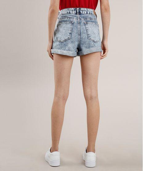 Short-Jeans-Feminino-Mom-Vintage-Barra-Dobrada-Azul-Claro-9559785-Azul_Claro_1