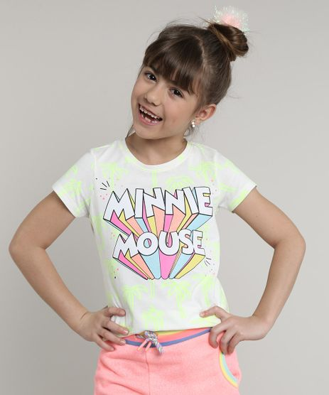 Blusa-Infantil-Minnie-Estampada-Coqueiros-Neon-Manga-Curta--Off-White-9709211-Off_White_1