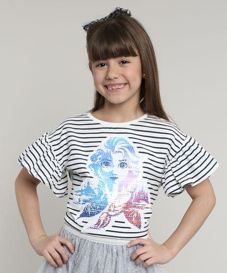 Blusa-Infantil-Elsa-Frozen-com-Paete-Listrada-Manga-Curta--Off-White-9668925-Off_White_1