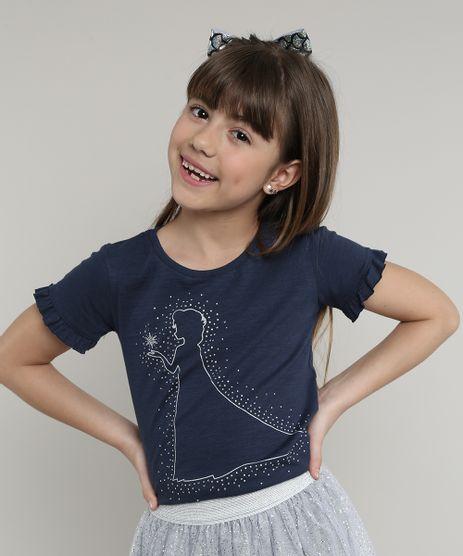 Blusa-Infantil-Elsa-Frozen-com-Strass-Manga-Curta--Azul-Marinho-9668926-Azul_Marinho_1