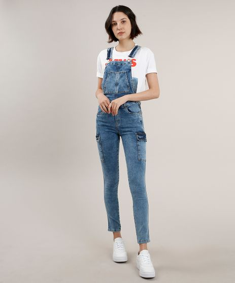 Macacao-Jeans-Feminino-Cargo-Azul-Medio-9753890-Azul_Medio_1