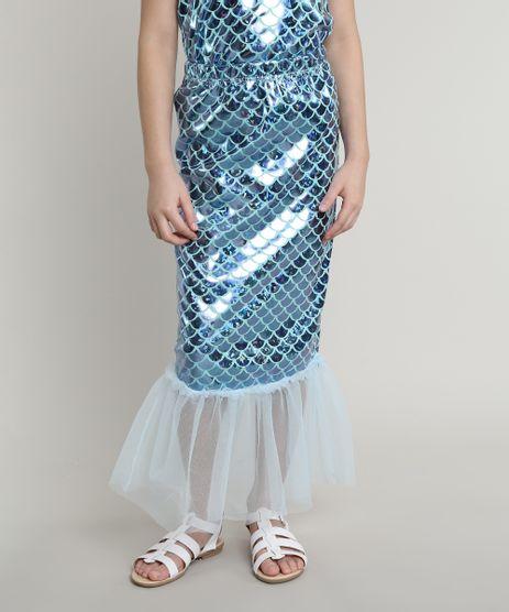 Saia-Infantil-Sereia-Metalizada-com-Tule-Azul-9675149-Azul_1