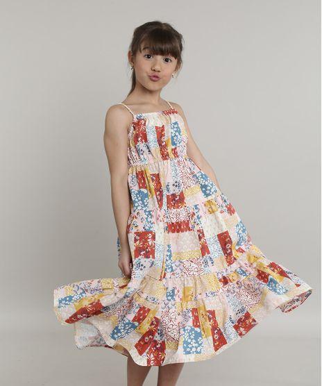 Vestido-Infantil-com-Recortes-Estampado-Floral-Alcas-Finas-Rosa-Claro-9662526-Rosa_Claro_1