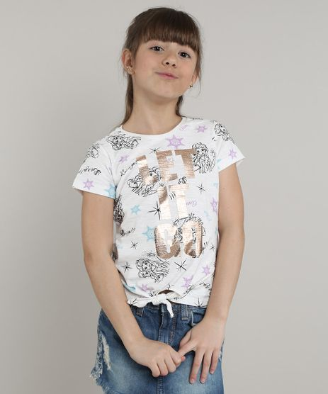 Blusa-Infantil-Frozen--Let-it-Go--Estampada-com-Amarracao-Manga-Curta--Off-White-9668927-Off_White_1