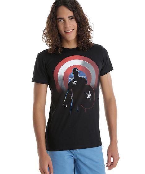 aec8ebcc6 Camiseta-Capitao-America-Preta-8541503-Preto 1 ...