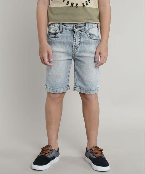 Bermuda-Jeans-Infantil-com-Puidos-Azul-Claro-9660616-Azul_Claro_1