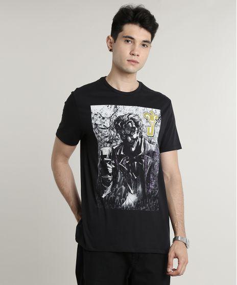 Camiseta-Masculina-Coringa-Manga-Curta-Gola-Careca-Preta-9645378-Preto_1