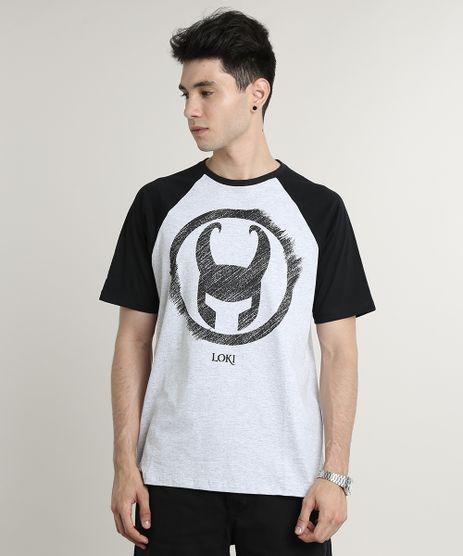 Camiseta-Masculina-Loki-Raglan-Manga-Curta-Gola-Careca-Cinza-Mescla-Claro-9789446-Cinza_Mescla_Claro_1