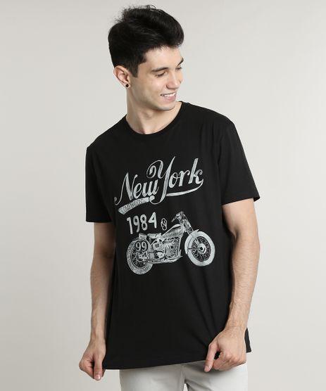 Camiseta-Masculina--New-York--Manga-Curta-Gola-Careca-Preta-9597339-Preto_1