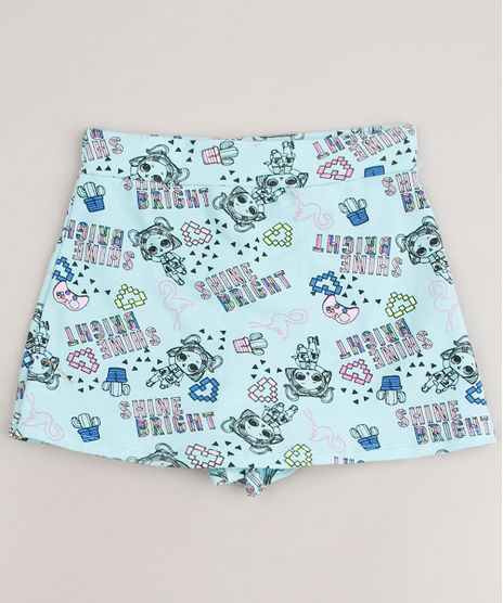 Short-Saia-Infantil-LOL-Surprise-Estampado-Verde-Agua-9637428-Verde_Agua_1