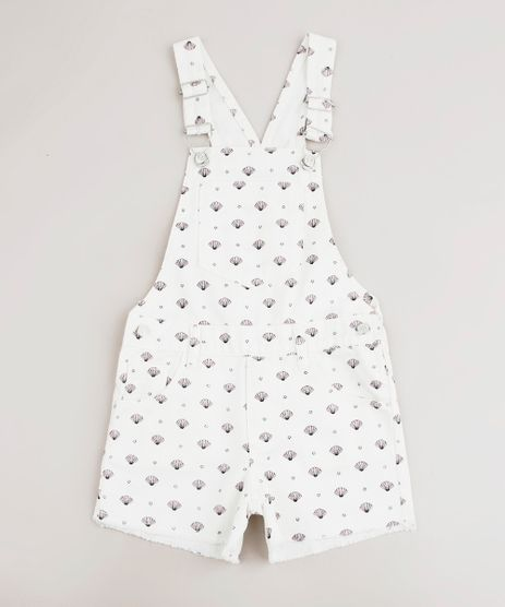 Jardineira-de-Sarja-Infantil-Estampada-de-Conchas-Off-White-9675350-Off_White_1