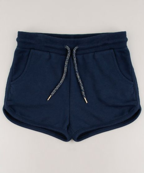 Short-Infantil-Basico-Running-em-Moletom-Azul-Marinho-9584031-Azul_Marinho_1