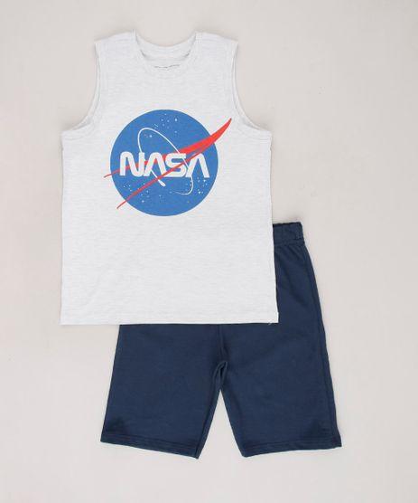 Conjunto-Infantil-Lunar-de-Regata-Cinza-Mescla-Claro---Bermuda-em-Moletom-Azul-Marinho-9758875-Azul_Marinho_1