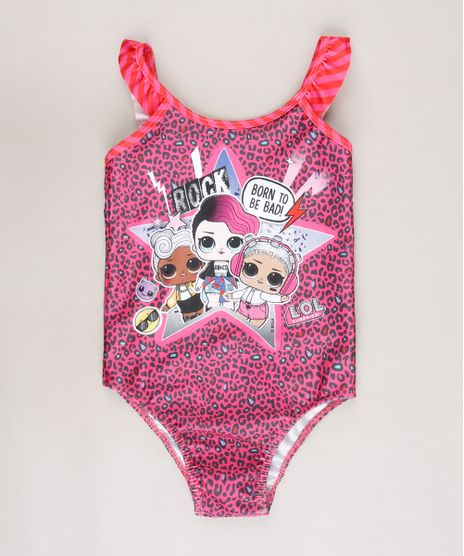 Maio-Infantil-LOL-Surprise-Estampado-Animal-Print-com-Babado-Protecao-UV50--Rosa-9668233-Rosa_1