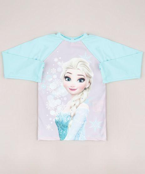 Blusa-de-Praia-Infantil-Elsa-Frozen-Manga-Longa-Verde-Agua-9700475-Verde_Agua_1