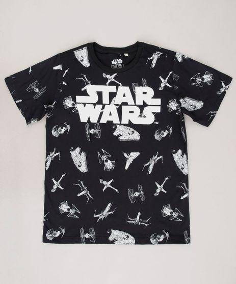 Camiseta-Infantil-Stars-Wars-Estampada-Manga-Curta--Preta-9697481-Preto_1