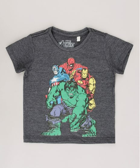 Camiseta-Infantil-Os-Vingadores-Manga-Curta-Cinza-Mescla-Escuro-9722347-Cinza_Mescla_Escuro_1