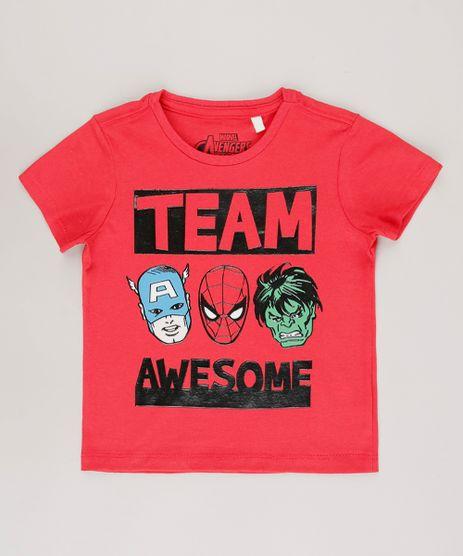 Camiseta-Infantil-Os-Vingadores--Team-Awesome--Manga-Curta-Vermelha-9722345-Vermelho_1