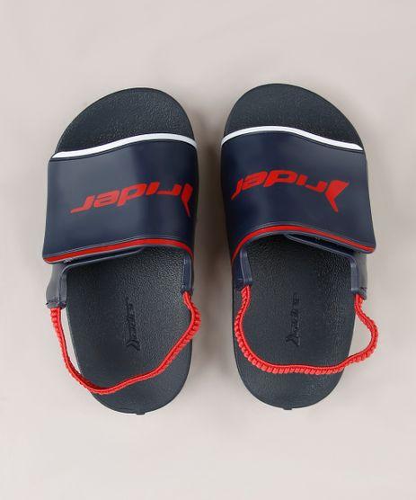 Chinelo-Slide-Infantil-Rider-com-Elastico-e-Velcro-Azul-Marinho-9694975-Azul_Marinho_1