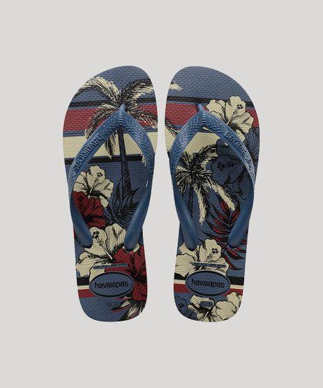 Chinelo-Masculino-Havaianas-Top-Estampado-Floral-Azul-9698895-Azul_1