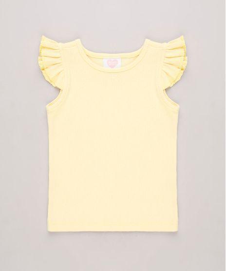 Regata-Infantil-Basica-Canelada-com-Babados-Amarela-Claro-8709896-Amarelo_Claro_1