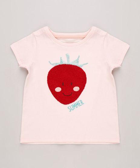 Blusa-Infantil-Morango-com-Paetes-Manga-Curta-Rose-9688716-Rose_1