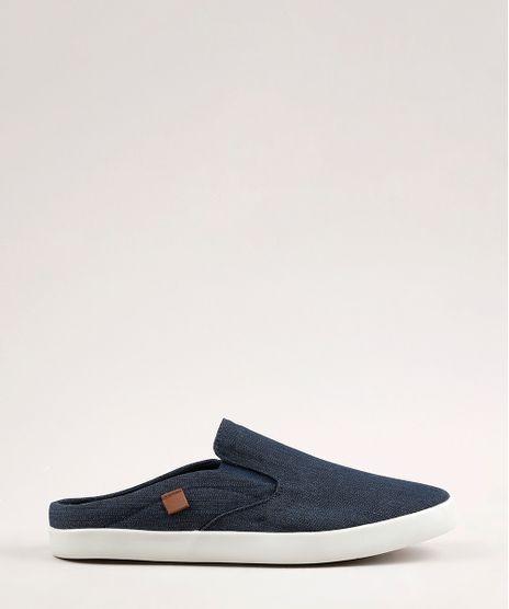 Tenis-Jeans-Slip-On-Mule-Masculino-Oneself-Azul-Escuro-9770492-Azul_Escuro_1