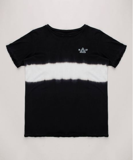 Camiseta-Infantil-Tie-Dye-Manga-Curta-Preta-9699489-Preto_1