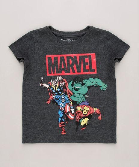 Camiseta-Infantil-Marvel-Os-Vingadores-Manga-Curta-Cinza-Mescla-Escuro-9715171-Cinza_Mescla_Escuro_1