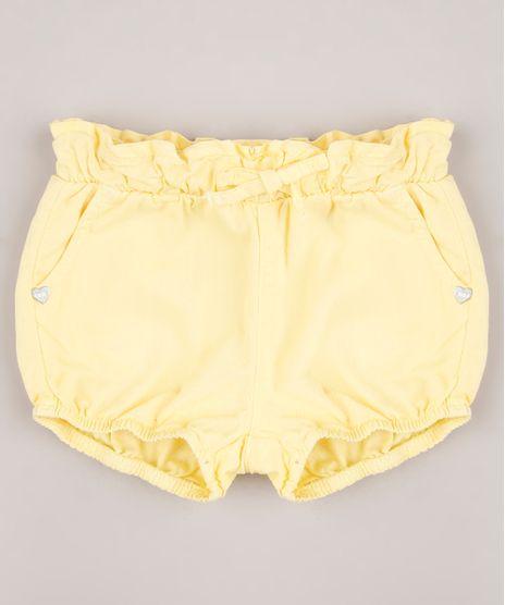 Short-de-Sarja-Infantil-Balone-com-Babado-Amarelo-9698927-Amarelo_1