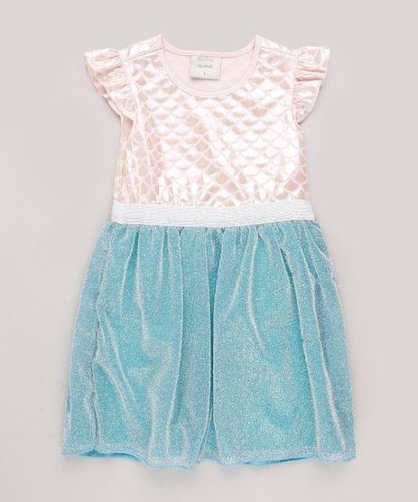 Vestido-Infantil-Sereia-com-Lurex-e-Babado-na-Manga-Rose-9717035-Rose_1