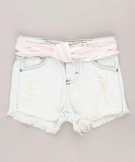 Short-Jeans-Infantil-Destroyed-com-Faixa-para-Amarrar-Azul-Claro-9636304-Azul_Claro_1