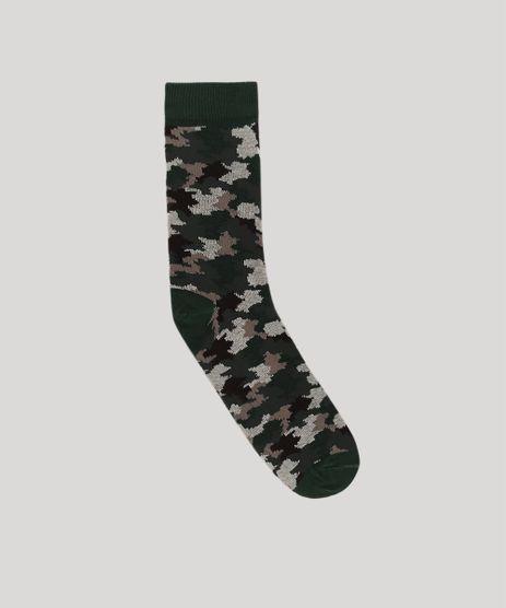 Meia-Masculina-Cano-Alto-Estampada-Camuflada-Verde-Militar-9636366-Verde_Militar_1