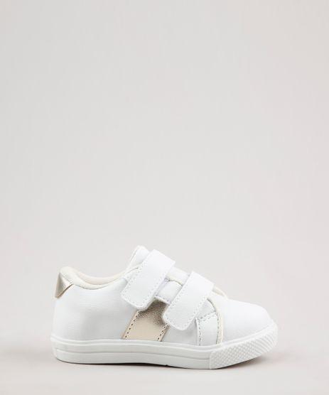Tenis-Infantil-Baby-Club-com-Recorte-Metalizado-e-Velcro-Branco-9785680-Branco_1