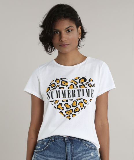 Blusa-Feminina--Summer-Time--Animal-Print-Manga-Curta-Decote-Redondo-Off-White-9703932-Off_White_1
