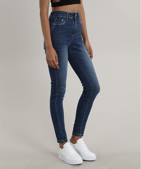 Calca-Jeans-Feminina-Sawary-Cigarrete-Pull-Up-Azul-Escuro-9748519-Azul_Escuro_1