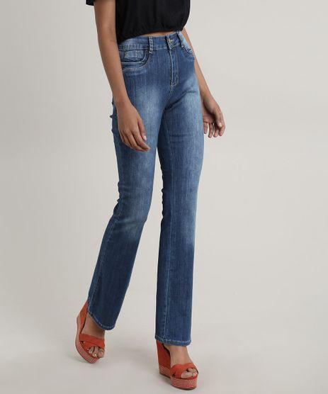 Calca-Jeans-Feminina-Sawary-Flare-Pull-Up-Azul-Escuro-9748510-Azul_Escuro_1