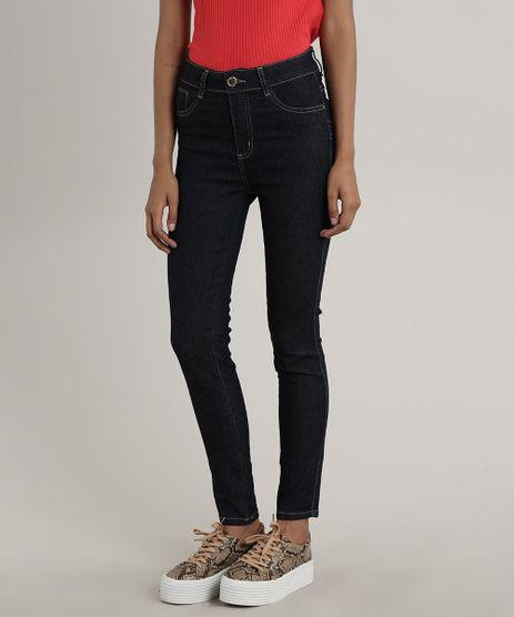 Calca-Jeans-Feminina-Sawary-Cigarrete-Pull-Up-Azul-Escuro-9775679-Azul_Escuro_1