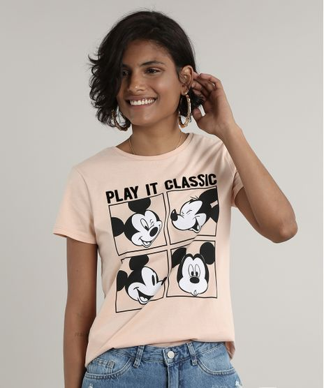 Blusa-Feminina-Mickey-Mouse--Play-it-Classic--Manga-Curta-Decote-Redondo-Rose-9693731-Rose_1