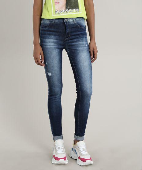 Calca-Jeans-Feminina-Sawary-Cigarrete-Barra-Dobrada-Azul-Escuro-9807363-Azul_Escuro_1