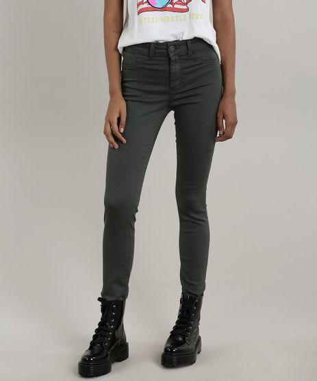 Calca-de-Sarja-Feminina-Super-Skinny-Energy-Jeans-Verde-Militar-9695959-Verde_Militar_1