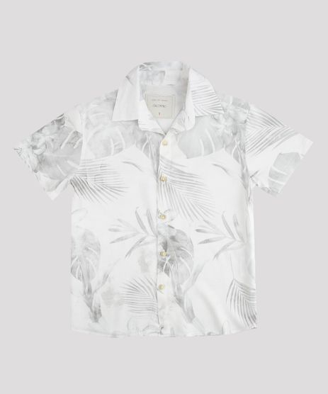 Camisa-Infantil-Estampada-de-Folhagem-Manga-Curta-Off-White-9660643-Off_White_1