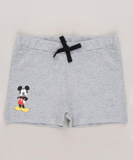 Short-Infantil-Mickey-Cinza-Mescla-9683534-Cinza_Mescla_1